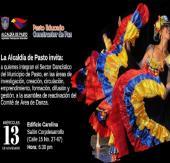 Secretaría de Cultura invita a la asamblea de reactivación del comité de área de danza del municipio de Pasto