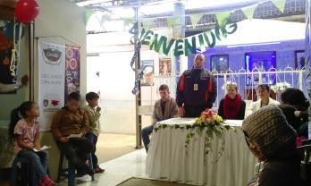 La Dirección Administrativa de Plazas de Mercado y la Secretaría de Bienestar Social dieron apertura al Comedor Creciendo con Amor en el Potrerillo