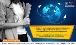 Oficina de Asuntos Internacionales invita a organizaciones sociales a participar en convocatorias